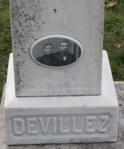 Henri Devillez served in Company G, 93rd Indiana Volunteer Infantry with my ancestor. In 2012, I visited his grave in Leopold, Indiana.