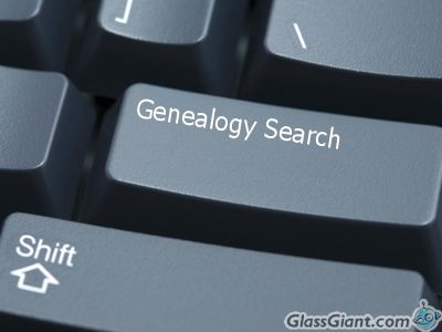 genealogy search keyboard